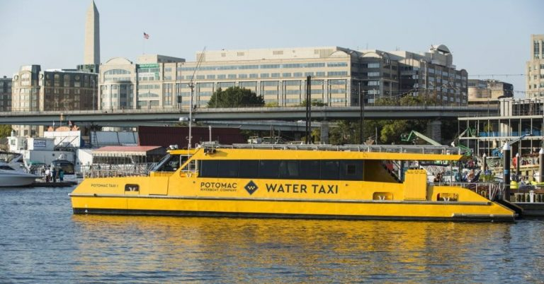 Alexandria Potomac Water Taxi Service Resumes With Limited Service