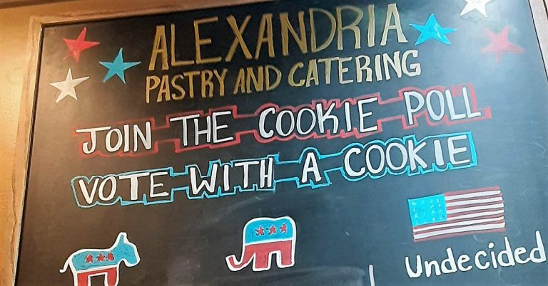 Sweet Poll: Alexandria Pastry's Election Cookies Predict White House Winner in Last Four Out of Five Elections