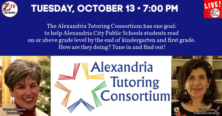 Tuesday on Z-TV LIVE! — Alexandria Tutoring Consortium