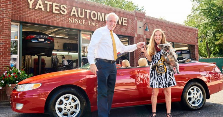 Yates Automotive Surprises Community Photographer