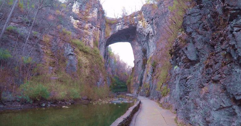 Virginia's Natural Bridge is NOT for Sale, Despite Rumors