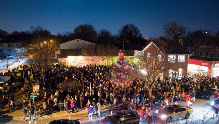 Watch Del Ray's Virtual Christmas Tree Lighting This Sunday, December 6