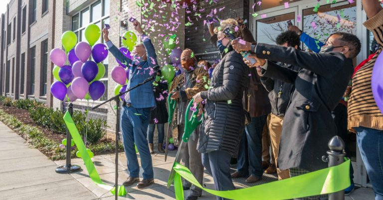 Ribbon Cutting Officially Opens Carpenter's Shelter and The Bloom Affordable Housing Apartments