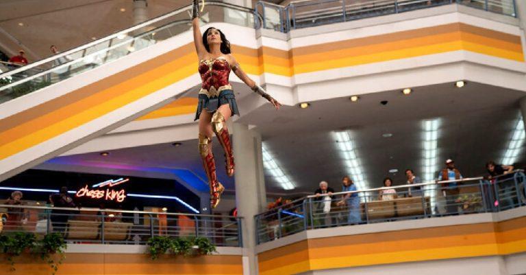 'Wonder Woman 1984' Prop on Display in Old Town, Jan. 7