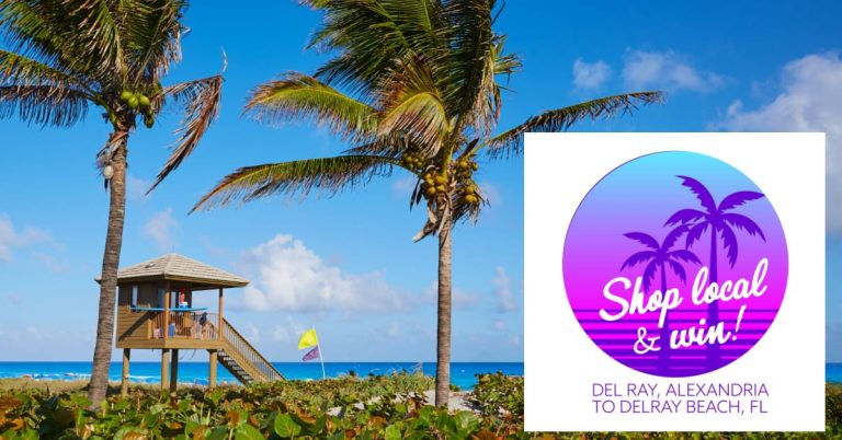 """Del Ray Business Association Launches """"Del Ray to Delray Beach"""" Raffle"""