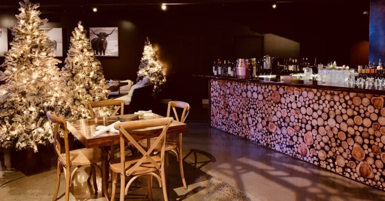 Last Chance to Experience The Winter Lodge at The Loft at Lena's