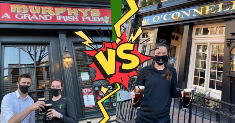 10,000 Pint Guinness Challenge: Old Town Irish Bars Murphy's and O'Connell's Racing to Sell the Most