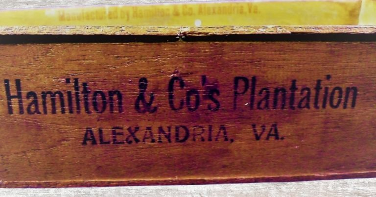 History Snapshot:  Alexandria, Virginia and Tobacco