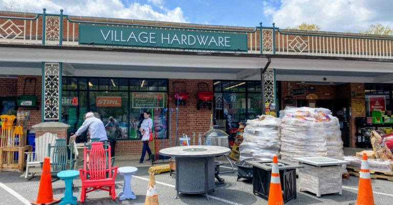 An Era Ends for Hollin Hall's Village Hardware