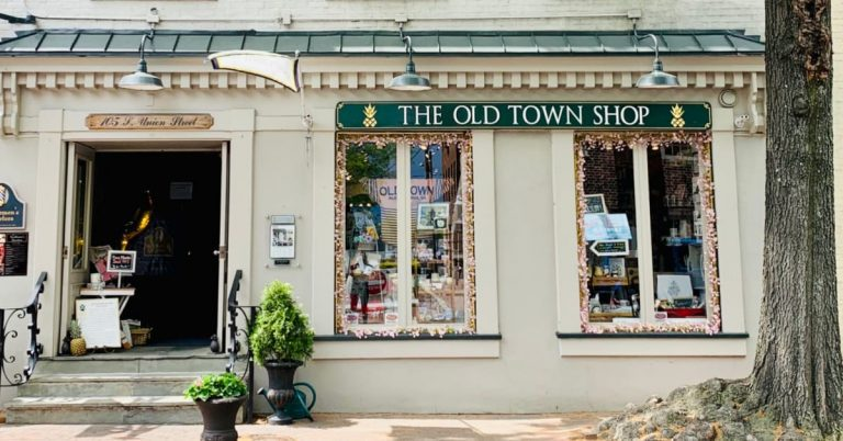The Evolution of Old Town Alexandria