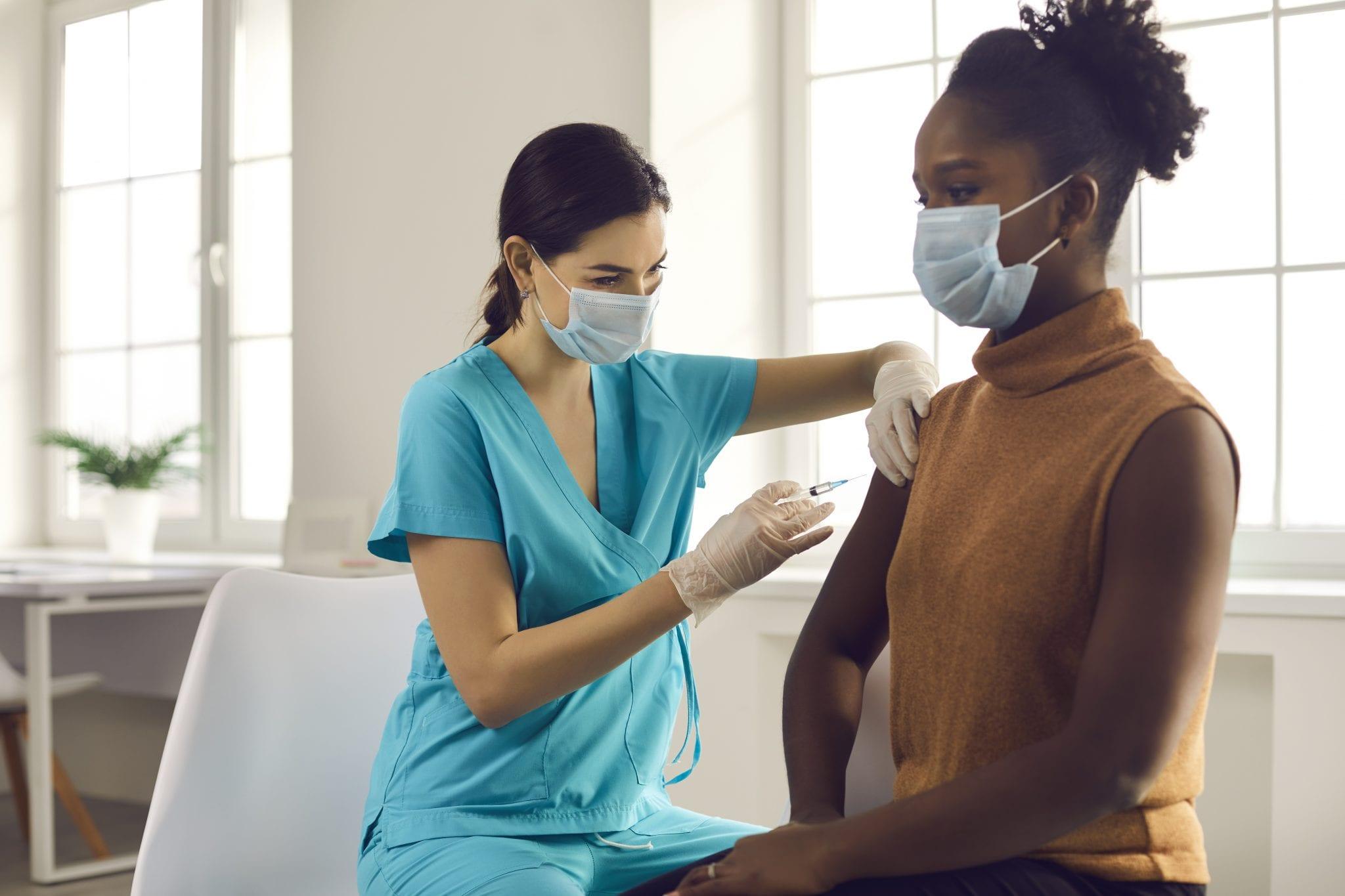 INOVA Hospital has vaccinated over 300,000 people already. (Photo: Adobe Stock, licensed to The Zebra Press)