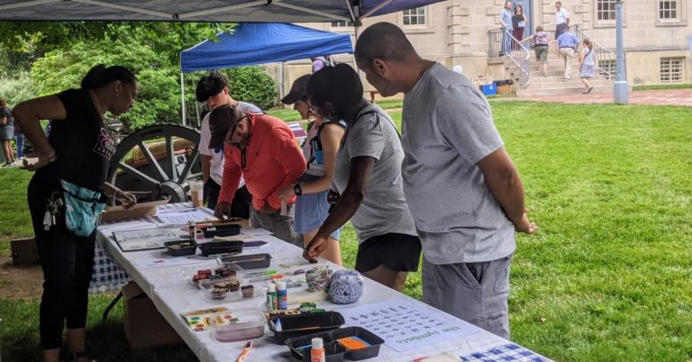 Once Home to Enslaved People, Alexandria's Carlyle House Hosts Standout Inaugural Juneteenth Celebration