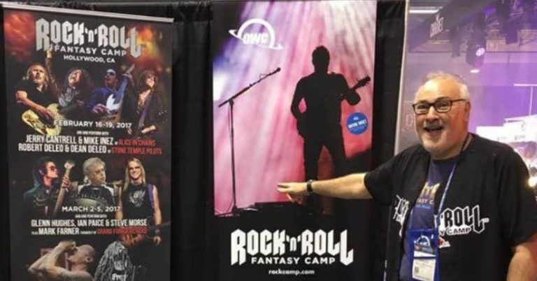 Rock & Roll Fantasy Camp Founder Tells Amazing Tales On Living On Music