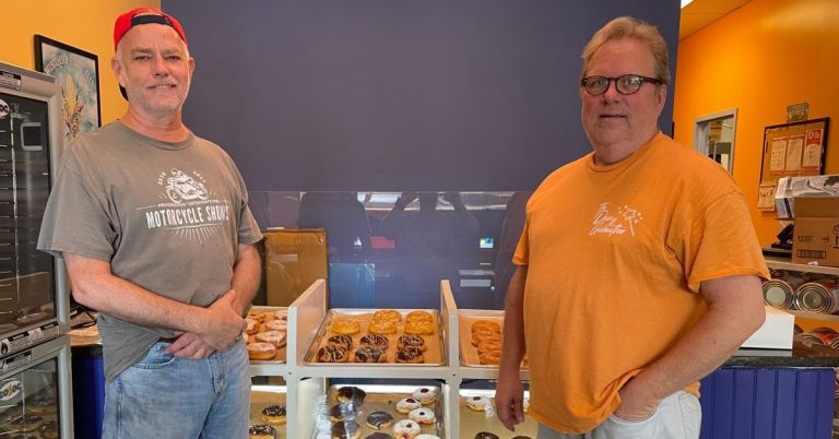 New Vegan Donut Business Opens Inside Alexandria's Popular Dairy Godmother Ice Cream Shop