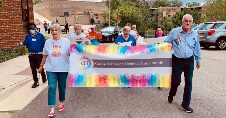 Goodwin House Bailey's Crossroads Celebrates Pride Month with First Annual Pride Parade