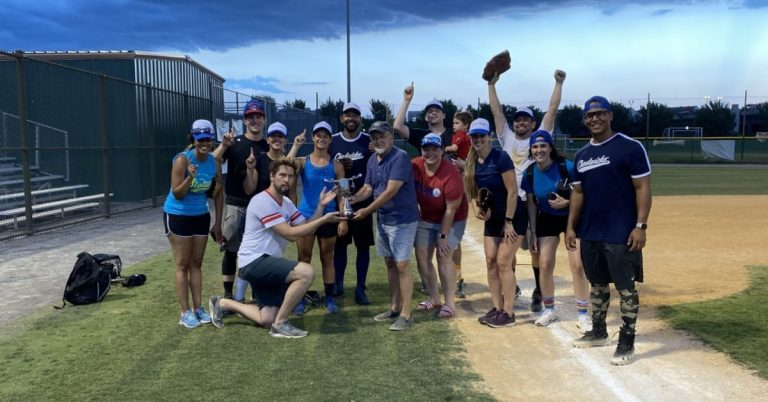 Del Ray and Old Town Business Competitors Clash in 3rd Annual Softball Game