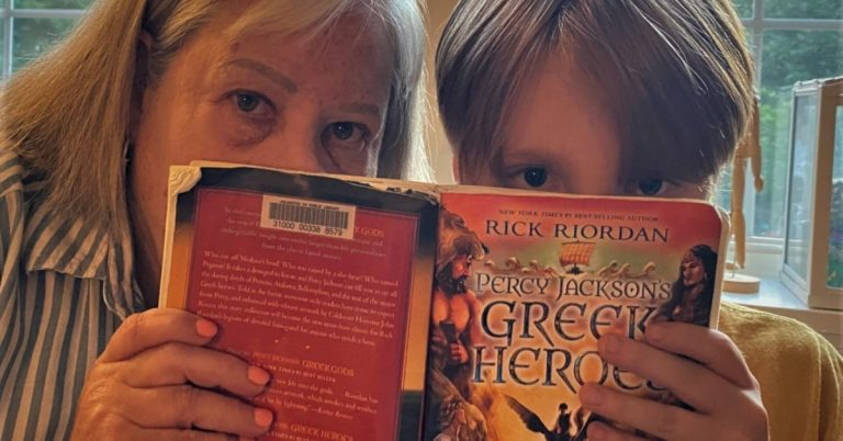 Retired Librarian and Grandson Start Book Review Column: Up First, Percy Jackson & The Olympians