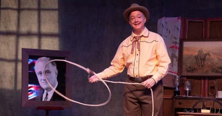 """Little Theatre of Alexandria Presents """"Will Rogers' USA"""" at Fort Ward Park, July 3"""