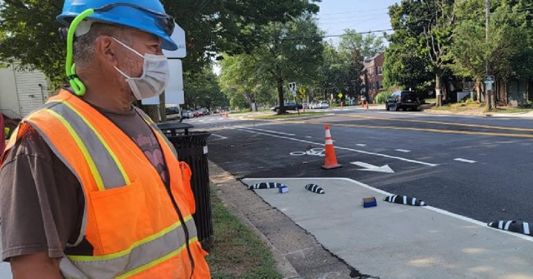 Alexandria City Installing New Zebras to Increase Pedestrian Safety on Commonwealth Avenue