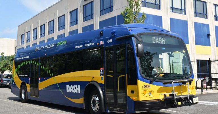 To Meet Zero Emissions Goal, DASH Debuts New Electric Buses
