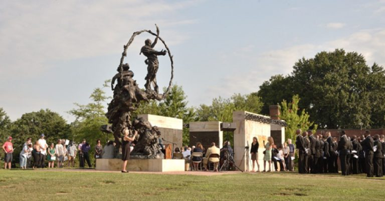 Contrabands and Freedmen Cemetery Memorial Publicly Dedicated