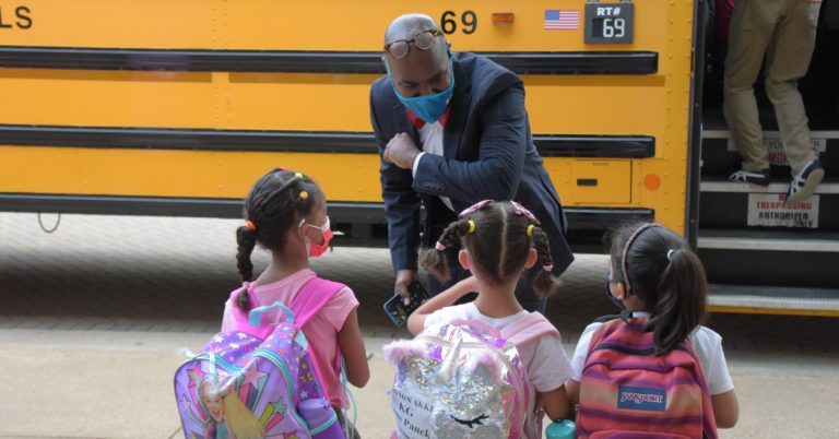 First Day of School at Samuel W. Tucker Elementary