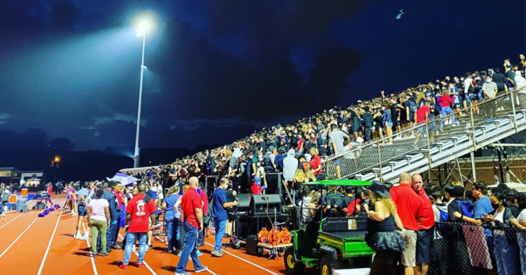 Sold-Out Crowd Watches Alexandria Titans Score Big Under New Lights