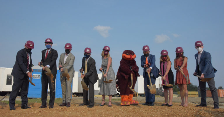 Official Ground Breaking of Virginia Tech Innovation Campus Held at Potomac Yard Center in Alexandria
