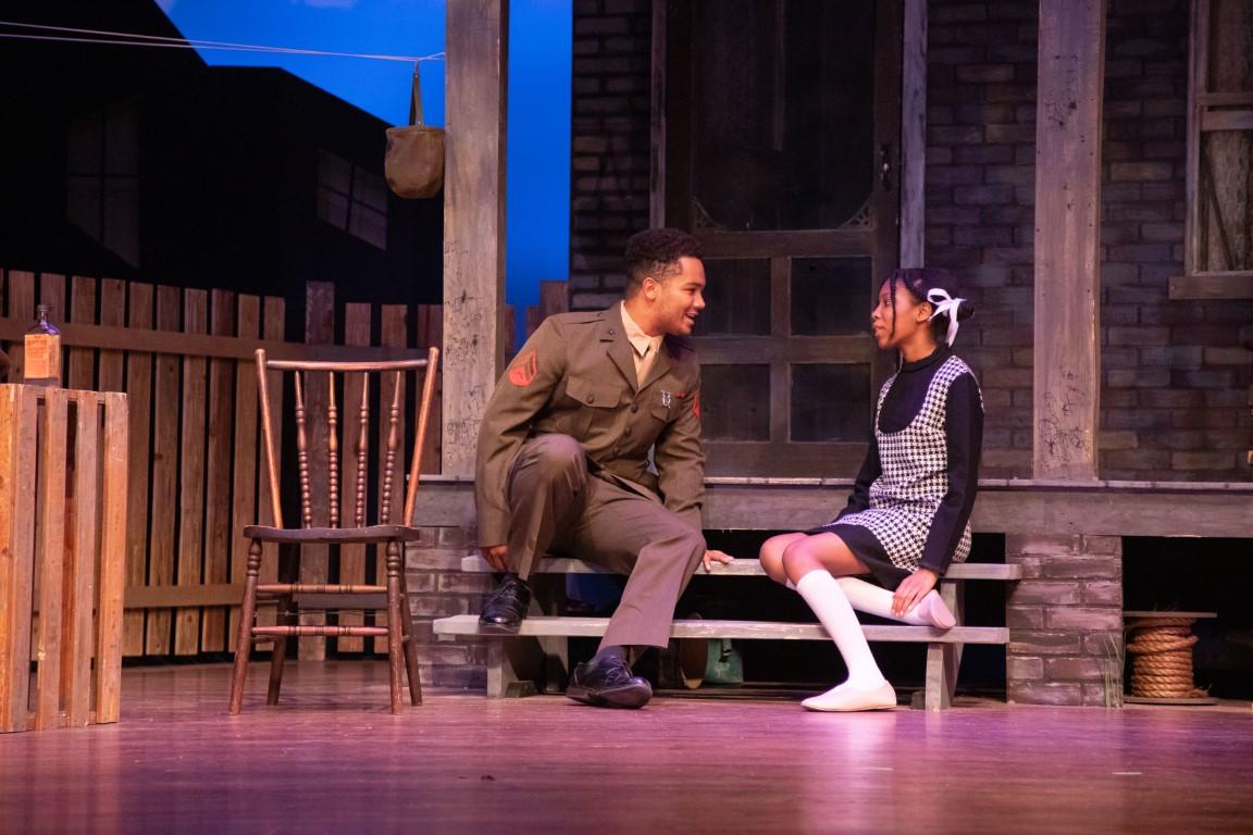 Jared Diallo (Cory) and Maya Bolden (Raynell). Photo by Matt Liptak.