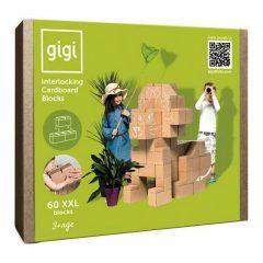 Gigi block 60 piezas XXL