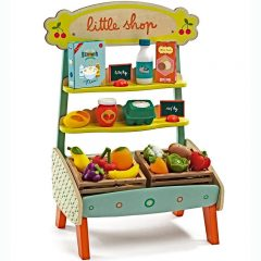 Mercado de madera Little Shop