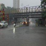 A rain visual from Sion King Circle (Photo: ANI)