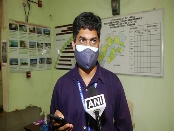 Umashankar Das, senior scientist at IMD Bhubaneswar in conversation with ANI. (Photo/ANI)