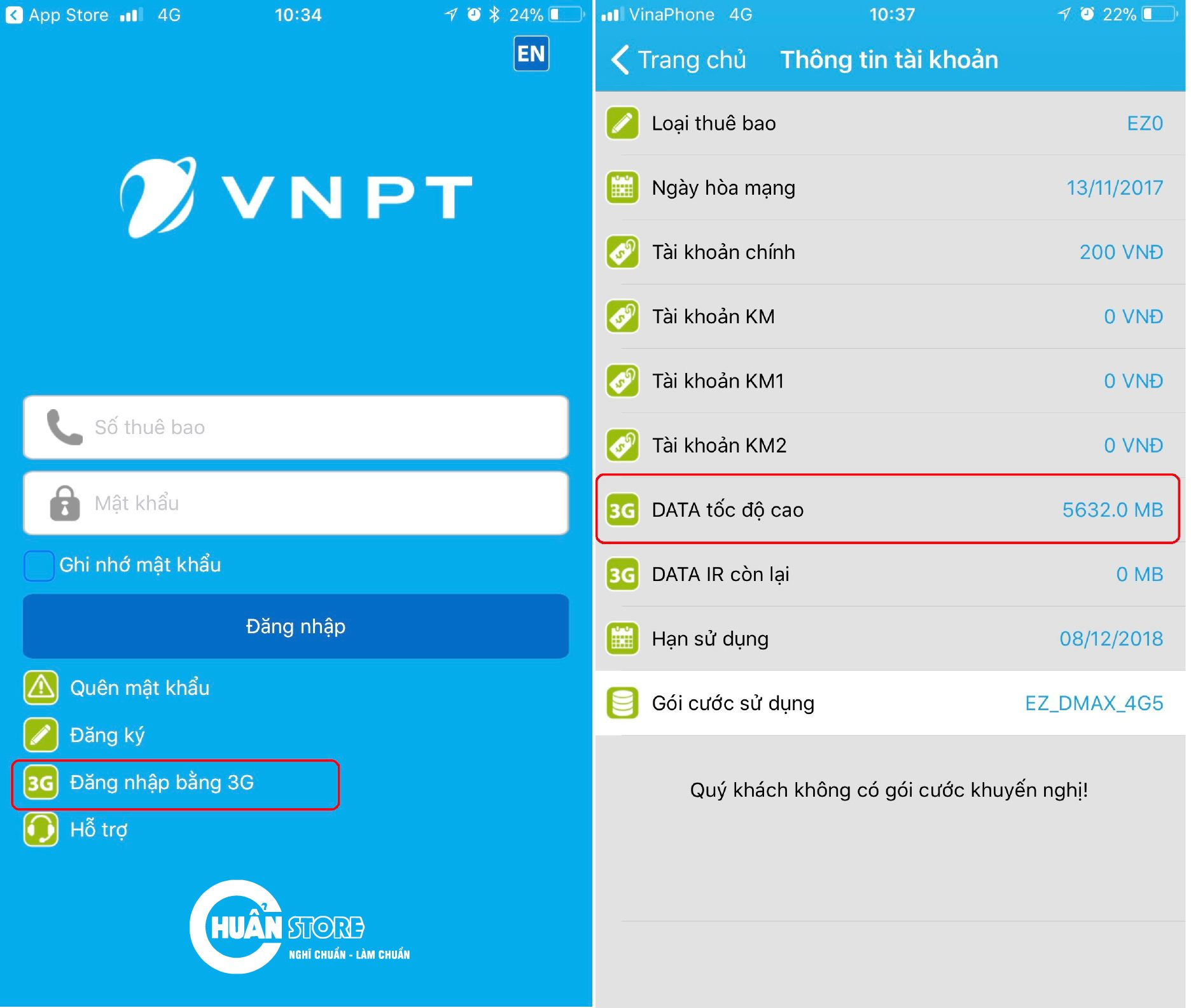 sim 4g vinaphone tron goi 1 nam khong nap tien chuan store - SIM 4G VINA D500 trọn gói một năm không nạp tiền