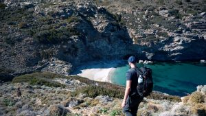 Hiking in Andros