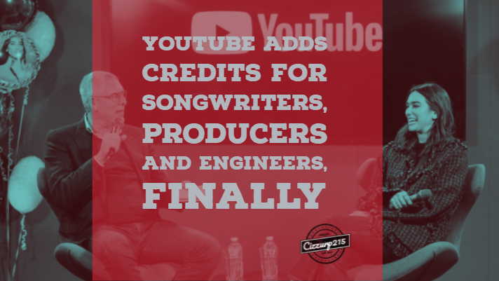 Youtube adds credits