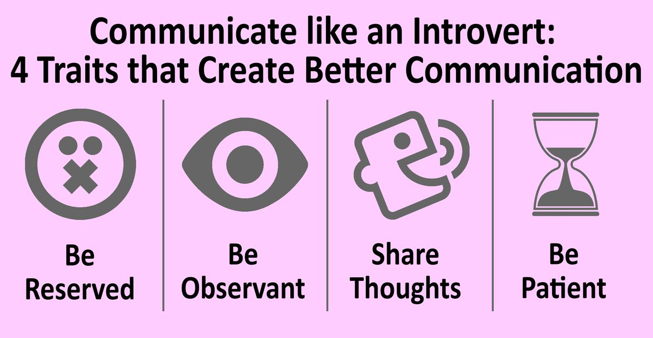 Introverts can be a better communicator