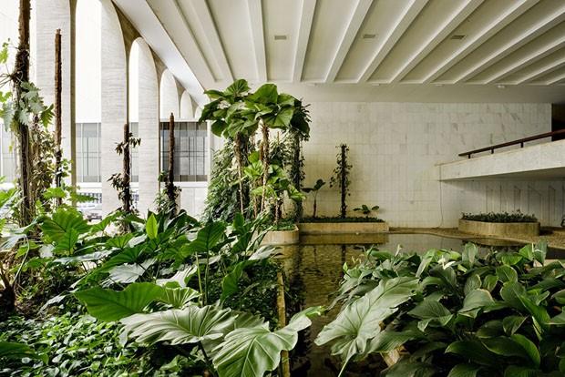 Burle Marx, Jardim Aquático - Palácio do Itamaraty