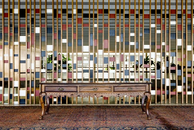 Mesa dos tratados - Itamaraty