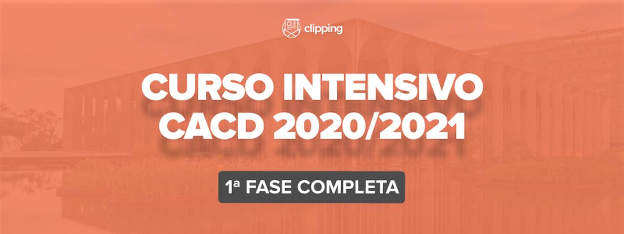 Curso Intensivo CACD 2021/2021