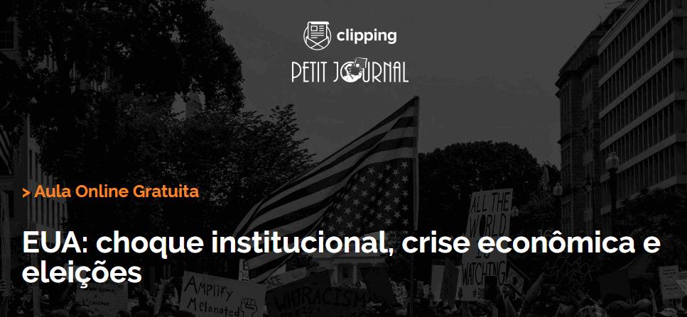 EUA: Choque Institucional, Crise Econômica e Eleições