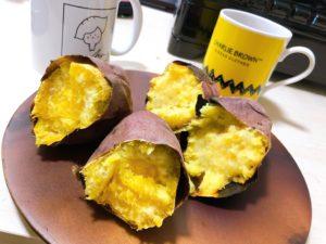 焼き芋とコーヒー 食べ比べ試食会