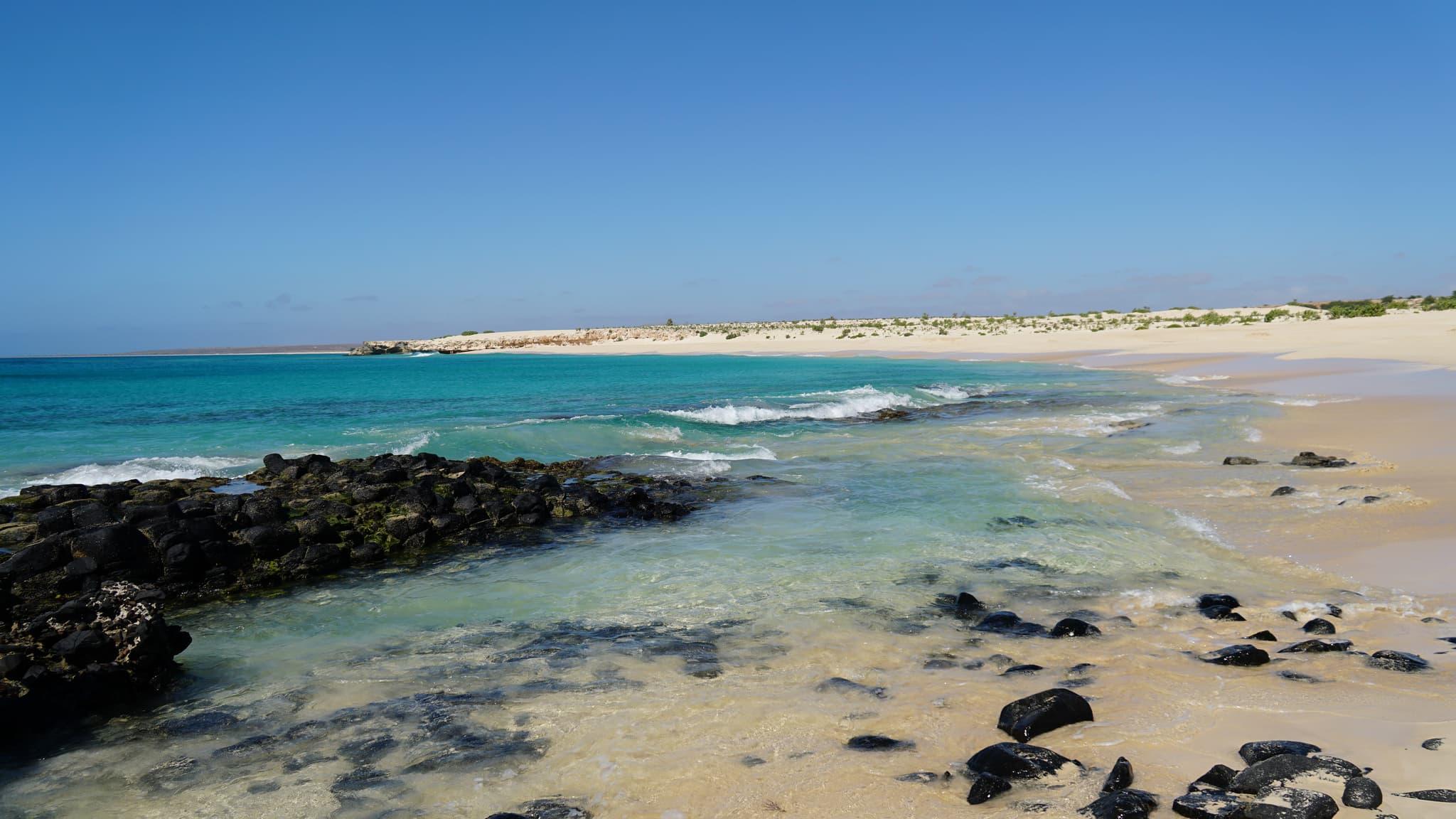 Spiaggia di Boa Vista a Capo Verde