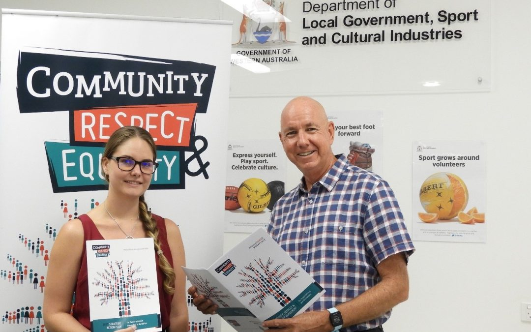 MID WEST SPORTS HOUSE SIGNS UP TO THE COMMUNITY RESPECT AND EQUALITY AGREEMENT TO PREVENT FAMILY VIOLENCE IN GERALDTON