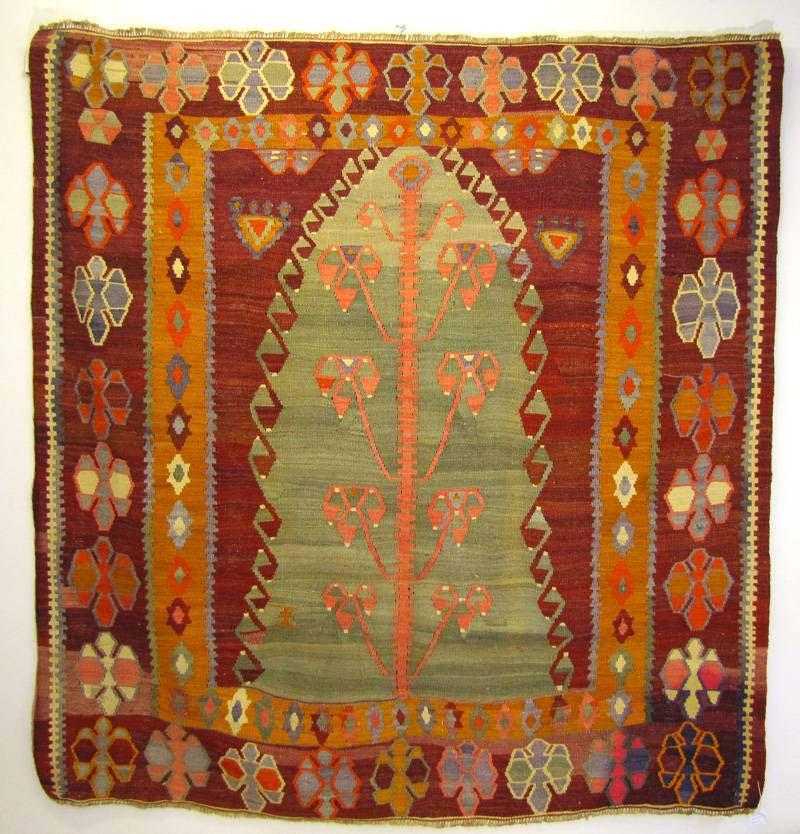Ægte orientalsk tæppe