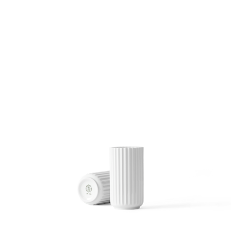 Vase Porcelæn Hvid 12,5 cm
