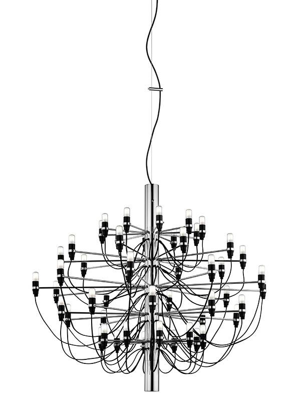 2097 / 50 Lysekrone Krom LED - Flos