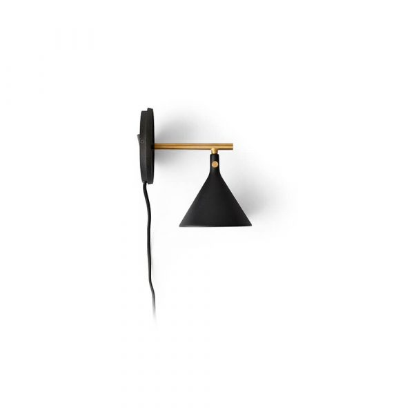 Cast Sconce Væglampe Black - Menu