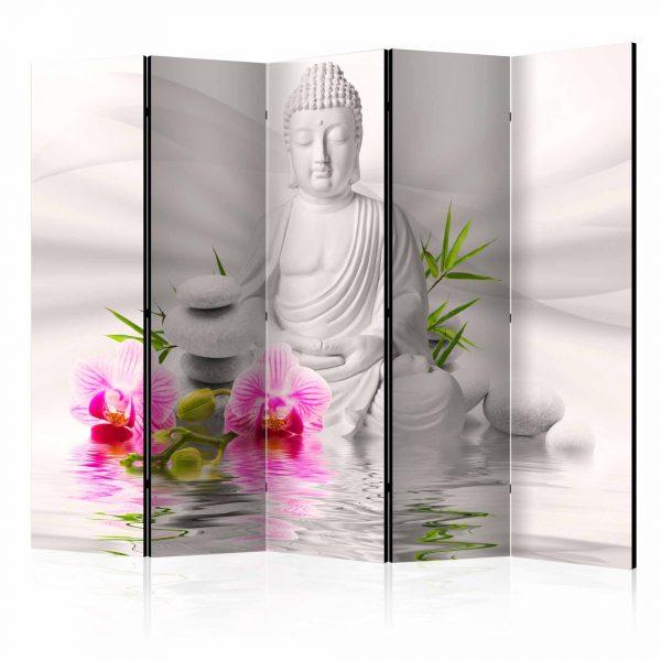 ARTGEIST Buddha and Orchids II rumdeler - multifarvet print (172x225)