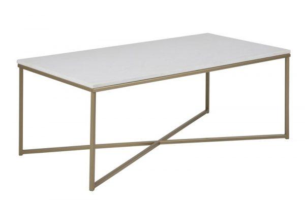 Alisma Sofabord - rektangulær, inkl plastik fodsko, (46x120x60)